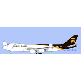 Gemini Jets B747-8F UPS N606UP 1:400 (Interactive)