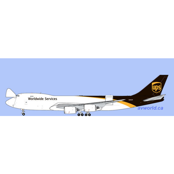 Gemini Jets B747-8F UPS N606UP 1:400 (Interactive) +Preorder+
