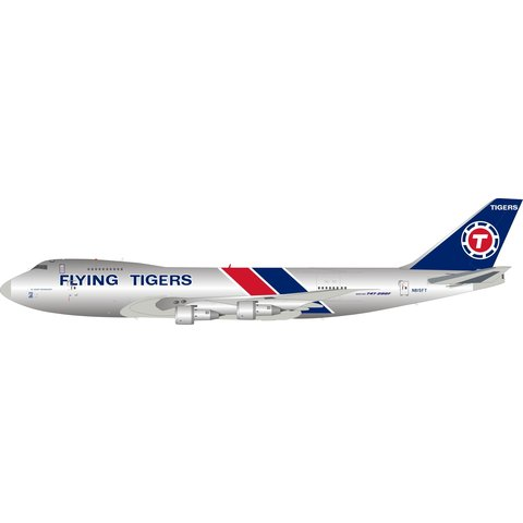 B747-200F Flying Tigers N815FT 1:200 polished +Preorder+