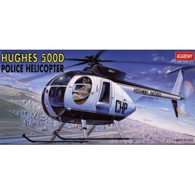 Academy Hughes 500D Police Helicopter 1:48