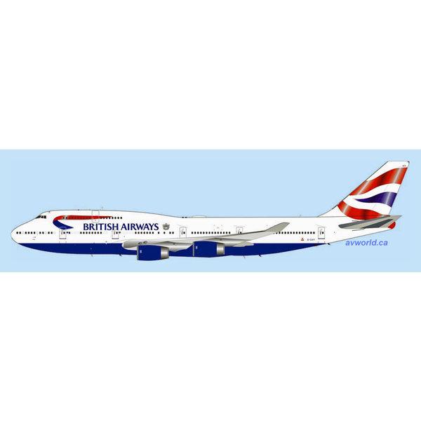 InFlight B747-400 British Airways G-CIVY Final Flight 1:200 +Preorder+