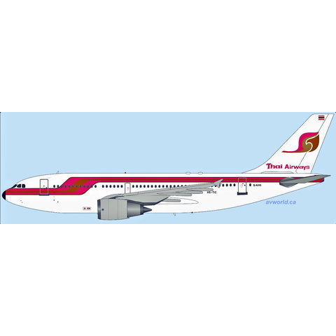 A310-200 Thai Airways Old Livery red/or HS-TIC 1:200 +Preorder+