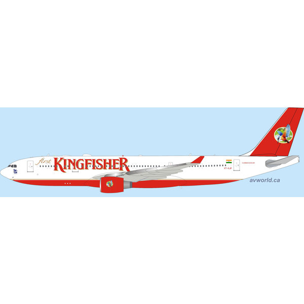 InFlight A330-200 Kingfisher Airlines VT-VJP 1:200