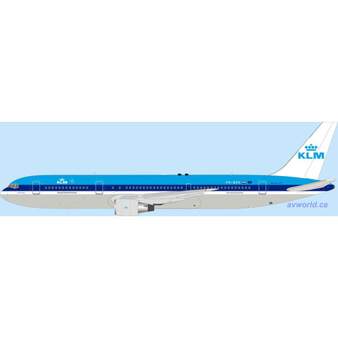 B767-300ER KLM PH-BZH 1:200 with stand