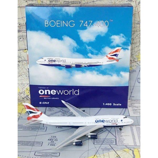 Phoenix B747-400 British Airways OneWorld G-CIVZ 1:400