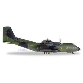 Herpa C160 Transall Luftwaffe LTG63 58+60 Mazar E Sharif 1:200