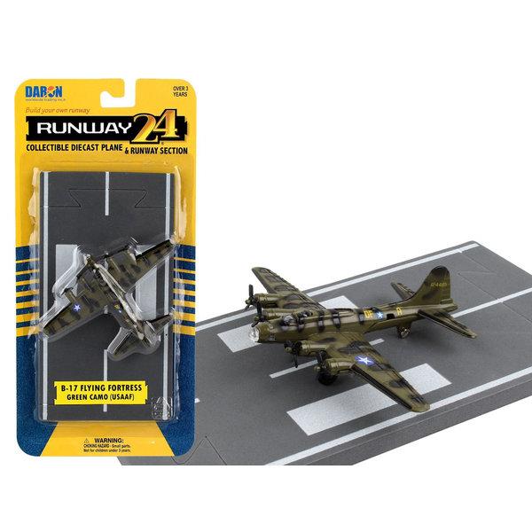 Runway 24 B17 USAAF Olive Green/Camo with runway
