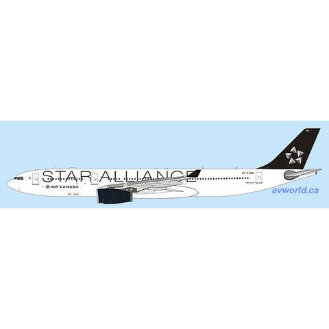 A330-300 Air Canada Star Alliance C-GEGI 1:400 + preorder+