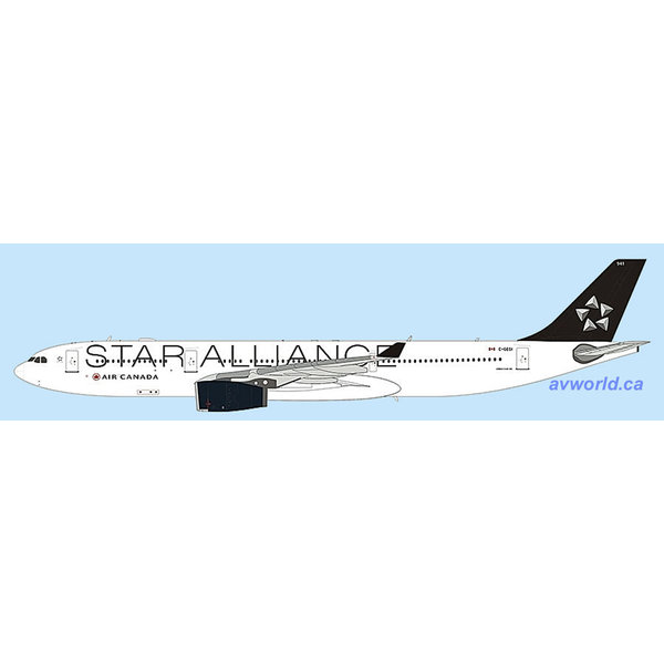 JC Wings A330-300 Air Canada Star Alliance C-GEGI 1:400 + preorder+