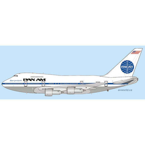 B747SP Pan Am Great Republic N534PA 1:400 +Preorder+