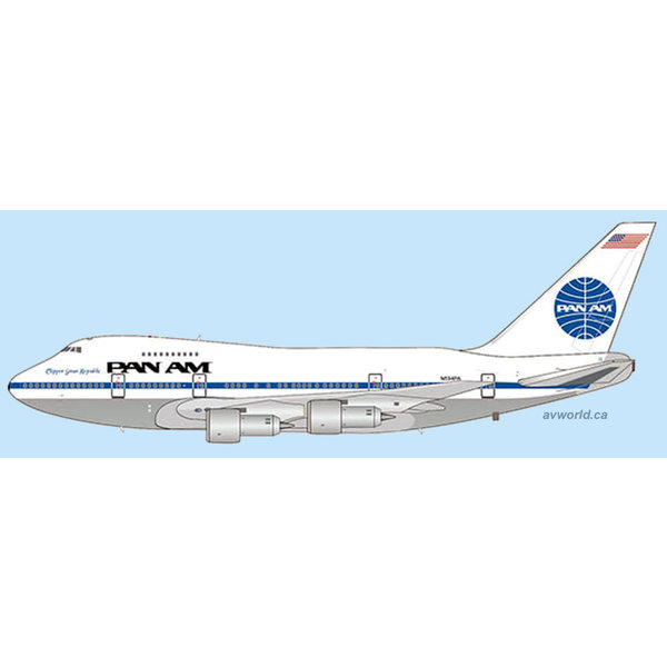 JC Wings B747SP Pan Am Great Republic N534PA 1:400 +Preorder+