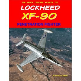 Ginter Books Lockheed XF90 Penetration Fighter: AFL#222  SC