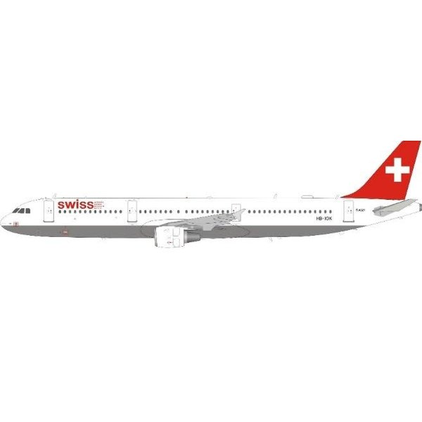 JFOX A321 Swiss International Air Lines HB-IOK 1:200