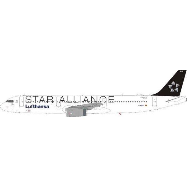 JFOX A321 Lufthansa Star Alliance D-AIWR 1:200
