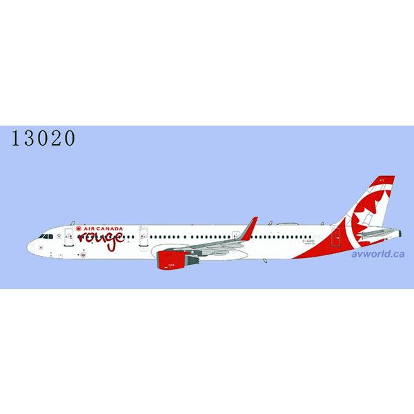 NG Models A321S Air Canada Rouge C-GHQI sharklets 1:400