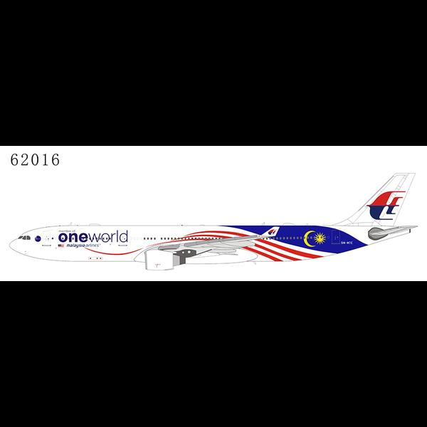 NG Models A330-300 Malaysia Negaraku OneWorld 9M-MTE 1:400
