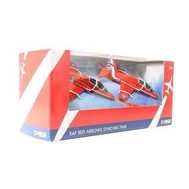 Corgi Hawk T1 Red Arrows RAF Synchro Pair 1:110