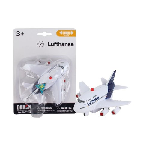 Boeing B747-8 Lufthansa Pullback With Light & Sound