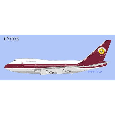 B747SP Qatar Amiri Flight VP-BAT 1:400