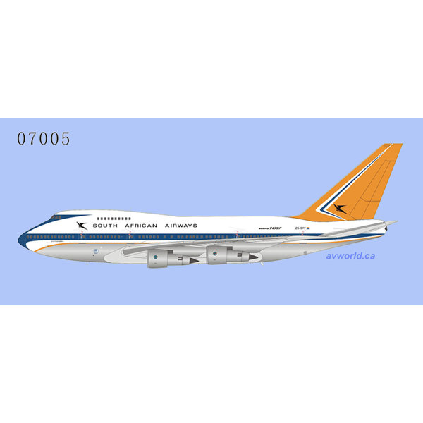NG Models B747SP South African 1970s c/s ZS-SPF 1:400 +Preorder+