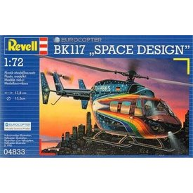 Revell Germany Eurocopter BK117 'SPACE DESIGN' 1:72 *O/P*