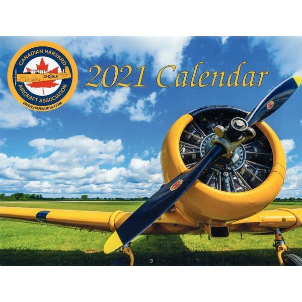 Canadian Harvard Aircraft Association CHAA Calendar 2021