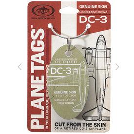 PlaneTags Douglas DC-3 PlaneTag  Serial # 43-15957