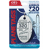Sully Airbus A320 PlaneTag SULLY Tail # N627AW White