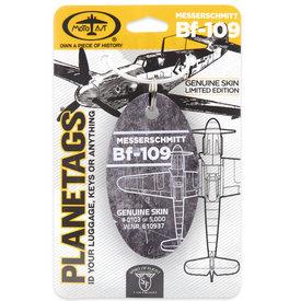 PlaneTags MESSERSCHMITT - BF 109 PLANETAG TAIL W.NR. 610937