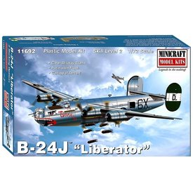 Minicraft Model Kits B24J Liberator 'Tubarao' 1:72