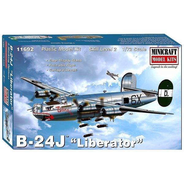Minicraft Model Kits B24J Liberator 'Tubarao' 1:72
