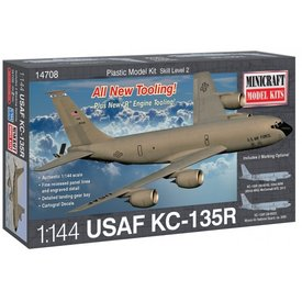 Minicraft Model Kits KC135R 1:144 New tool  2014
