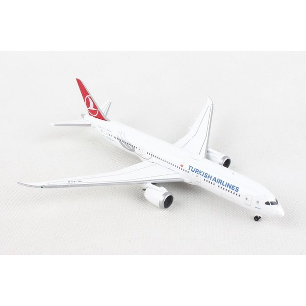 Herpa B787-9 Dreamliner Turkish Macka 1:500