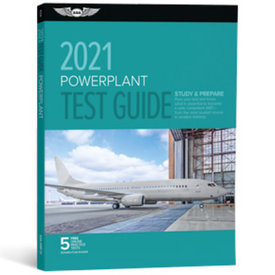 ASA - Aviation Supplies & Academics Powerplant Test Guide 2021 softcover