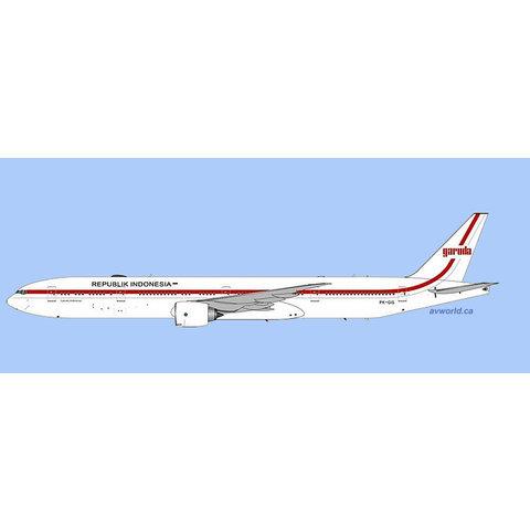 B777-300ER Garuda 1970's Retro Republik Indonesia PK-GIG 1:400