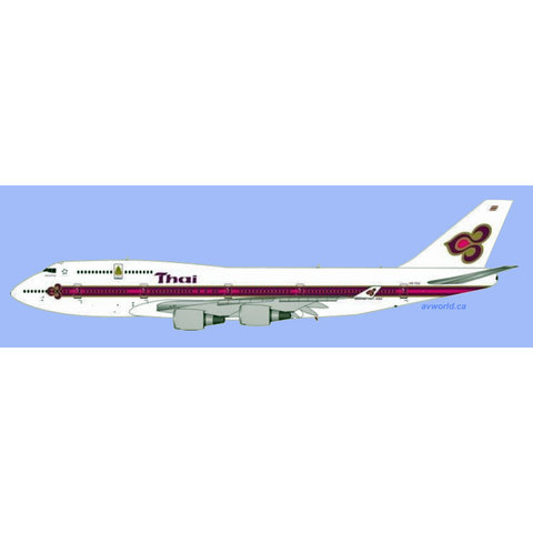 B747-400 Thai Airways o/c Kings Logo HS-TGA 1:400