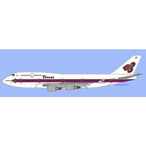 B747-400 Thai Airways old livery HS-TGA 1:400