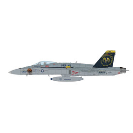 Hobby Master FA18C Hornet VFA83 Rampagers CAG 300 164201 2005 1:72