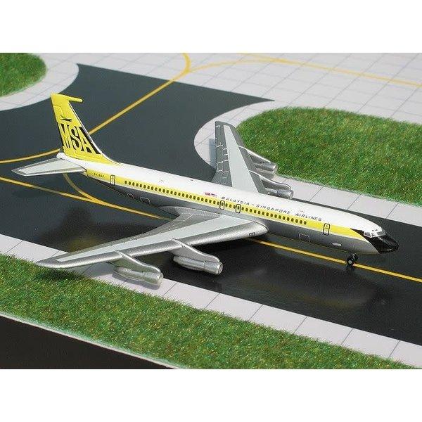 Gemini Jets B707-320B/C MSA MALAYSIA/SINGAPORE