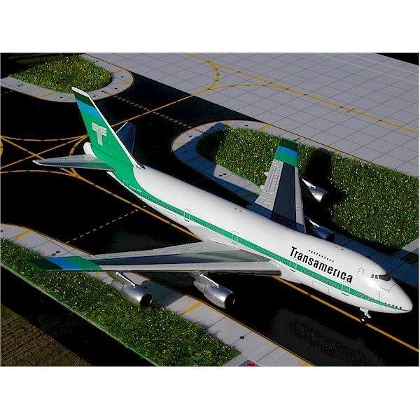 Gemini Jets B747-200 Transamerica Airlines 1:400
