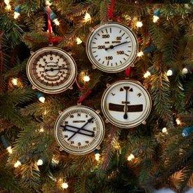 Aircraft Wooden Ornaments