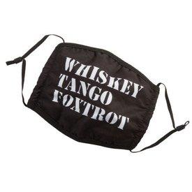 Face Mask Whiskey Tango Foxtrot