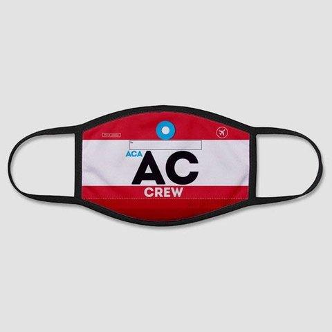AC - Face Mask - Regular / Large - Air Canada Crew