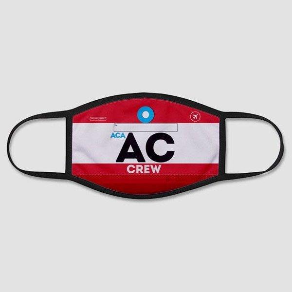 Airportag AC - Face Mask - Regular / Medium - Air Canada Crew