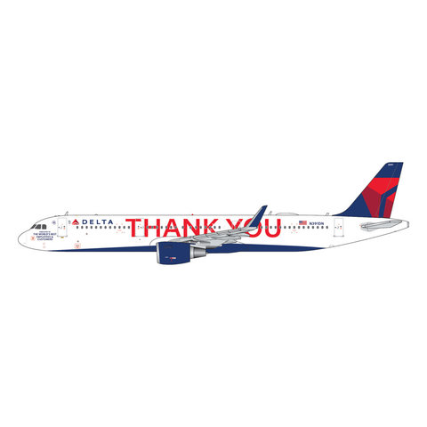 A321neo Delta 2007 THANK YOU Livery N391DN 1:400