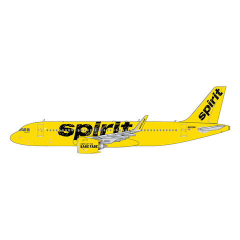 A320neo Spirit Airlines yellow livery N902NK 1:400