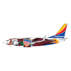 Gemini Jets B737-700W Southwest Illinois One N918WN 1:400 +Preorder+