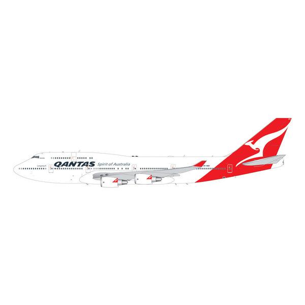 Gemini Jets B747-400ER Longreach QANTAS Hervey Bay VH-OEH 1:200