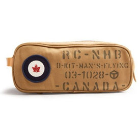 Red Canoe Brands Toiletry Kit Case RCAF Canvas