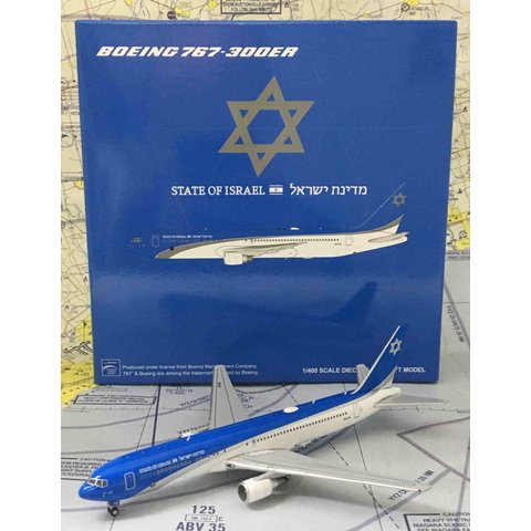 B767-300ER Israeli Government new livery 4X-ISR 1:400
